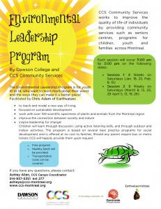 Environmental Leadership Program Poster
