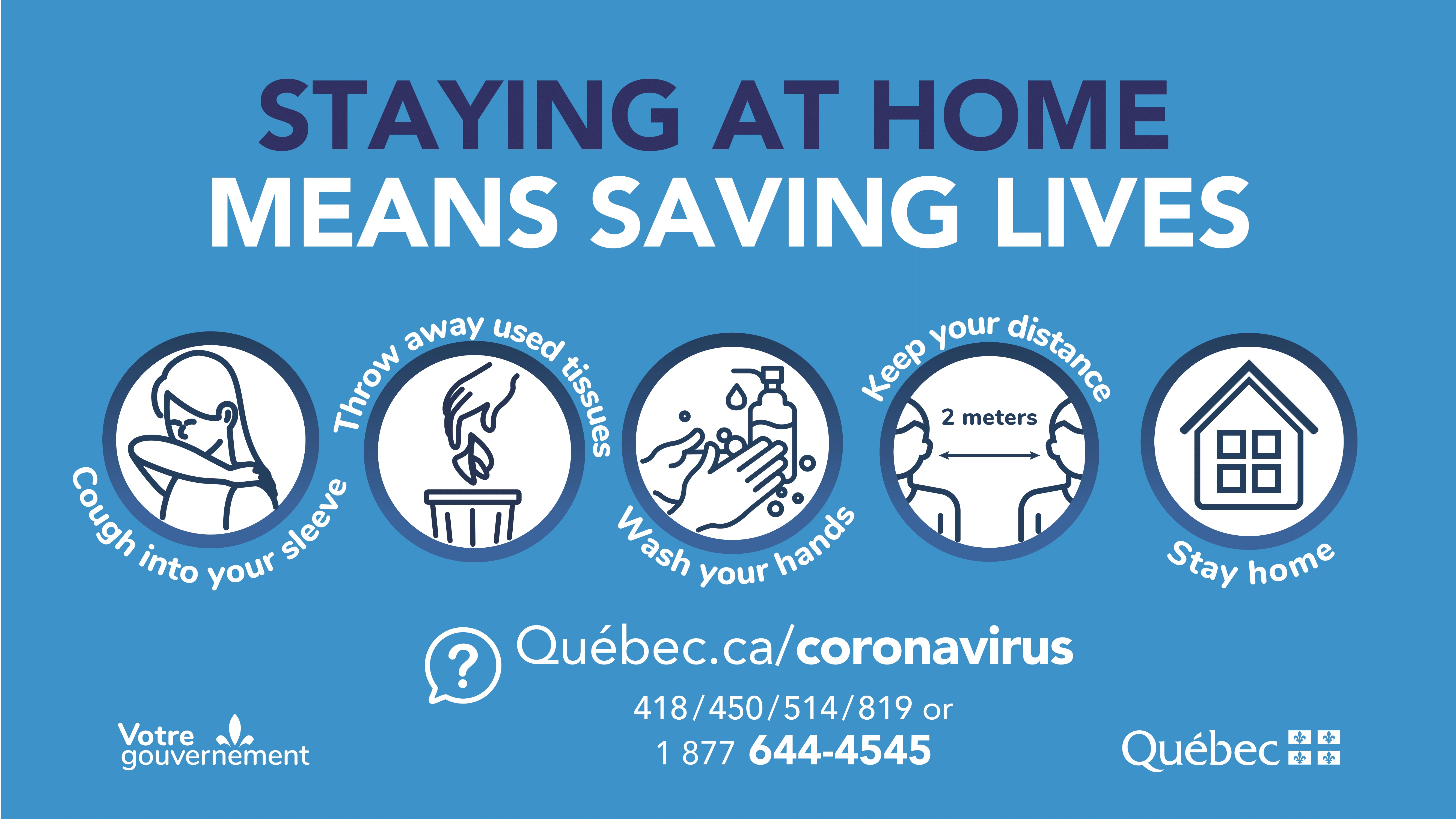 Staying Home Saves Lives